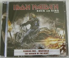 IRON MAIDEN ROCK AM RING 2005 CD MADE IN BRAZIL 2013 14 TRACKS LIVE !!