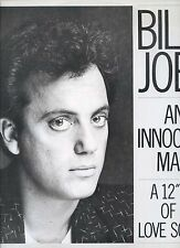 BILLY JOEL an innocent man 12INCH 45 RPM UK EX+