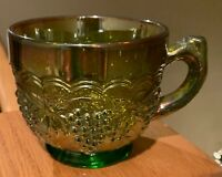 Imperial VINTAGE CARNIVAL (Green) Punch Cup(s)