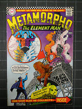 METAMORPHO THE ELEMENT MAN 1966 #6 FN MINUS BOOK,BONDAGE SPLASH PAGE!