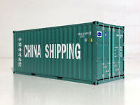 "WSI TRUCK MODELS, 20FT CONTAINER, ""CHINA SHIPPING"""