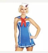 Sexy Sailor Halloween Cosplay Costume 3 Pieces