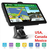 7'' GPS Navigation for Car Truck Navigator Map Touchscreen Multi-Language Navi