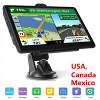 7'' GPS Navigation for Car Truck Navigator Map Touchscreen Multi-Language Navi