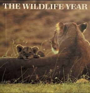 The Wildlife Year Readers Digest 1991 Hardback Animal Facts Book
