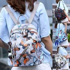 Women Butterfly Backpack Casual Anti-Theft Rucksack School Outdoor Shoulder Bags