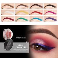 Women Eyebrow Pomade Dye Gel Eye Liner Cream Eye Brow Definer Waterproof Makeup