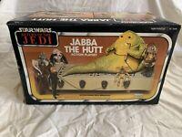 1983 Kenner Star Wars VI Jabba Hutt Fig Playset Return Jedi ROTJ Box Sealed NEW