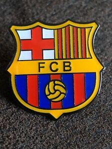 BARCELONA Spanish  Football  Club Enamel Pin Badge Logo Butterfly Clasp Logo