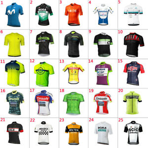 2021 Mens team cycling jersey cycling Short sleeve jersey cycling Short sleeve