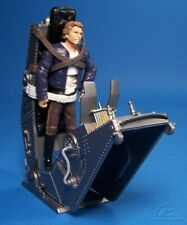 STAR WARS 30th ANNI LOOSE ULTRA RARE HAN SOLO WITH TORTURE RACK & COIN. C-10+