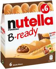 Nutella Bready a crisp wafer of bread in the form of mini baguette 4 pack