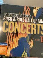 Rock N Roll Hall Of Fame Anniversary Vinyl Record New