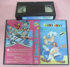 VHS film BRACCIO DI FERRO 2 animazione CARTOONS 1990 DB DBV 152 (F161) no dvd