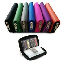 Memory Card Storage Carrying Case Holder Wallet For HC SD Micro CF MMC A0S3 B9I9