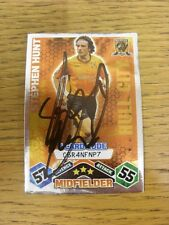 2009/2010 Autograph: Hull City - Hunt, Stephen - Silver i-Card Code Card [Hand S