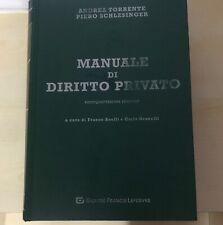 manuale di diritto privato torrente schlesinger