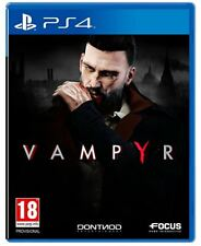 Vampyr Sony PS4 Game (UK NEW & SEALED) London 1918 Vampire Action Adventure