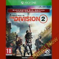 TOM CLANCY'S THE DIVISION 2 WASHINGTON D.C. EDITION - Xbox ONE ~ NEW Sealed!