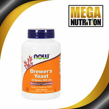 Now Foods Brewer's Yeast 650mg 200 Tabs