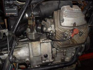 MOTO GUZZI  V35  IMOLA MK1  1982  ENGINE COMPLETE, 38140KM = 23700 MILES APPROX