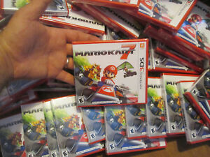 Mario Kart 7 Nintendo 3DS BRAND NEW FACTORY SEALED AUTHENTIC US EDITION