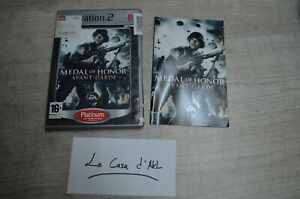 Medal of Honor Avant-Garde complet sur Playstation 2 PS2 - FR