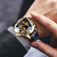 Mechanical Wrist Watch Automatic Luxury Skeleton Mens Movement Wristwatch Unisex