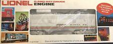 Lionel 6-8777 Santa FE F3 B-unit Diesel Locomotive