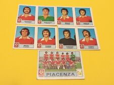 FIGURINA CALCIATORI PANINI 1975/76 Lotto 5 pz PIACENZA  NEW