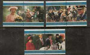 FALKLAND ISLANDS SG785/90 1997 GOLDEN WEDDING  MNH