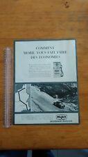 PUBLICITE ANCIENNE - PUB ADVERT - MOBIL - PARIS MATCH 1965