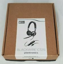 Plantronics Blackwire C725-M Stereo USB Headset with Carry Case for MS Lync MOC