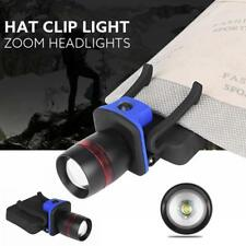3000 LM Zoomable Q5 LED Torch Headlamp Clip-on Head Cap Hat Light AAA Battery FZ
