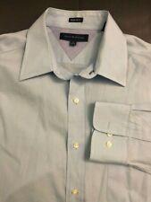 New * Tommy Hilfiger Men's Shirts Regular Fit Long Sleeve sz 16 34/35 light blue