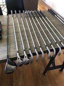 Golf club set, Titleist, used, Very Good Condition, 775Cb Iron Set, Regular Flex
