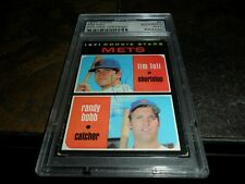 1971 Topps #83 TIM FOLI AUTO ROOKIE NEW YORK Mets SIGNED PSA/DNA