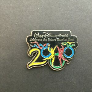 Celebrate The Future Hand in Hand - 2000 Dancers Resort Flex - Disney Pin 2