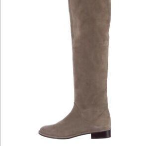 Stuart Weitzman Fangirl Boots Tan/grey 8