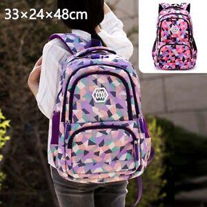 Kinder Mädchen Rucksack Schulranzen Schulrucksack Wasserdicht Ranzen Schultasche