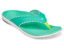 Spenco Candy Stripe - Women's Supportive Sandals Spearmint - 9 Medium