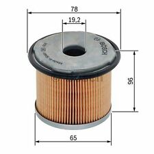Filtro De Combustible Bosch 1457431720-SINGLE