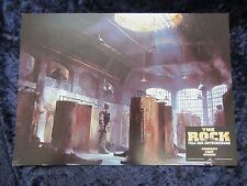 The Rock lobby card  # 8 - Original German Still  Nicolas Cage, Sean Connery