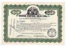Trans Empire Oils Ltd