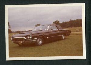 1965 Ford Thunderbird Car Vintage Color Photo 450135