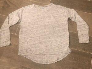 Justice  Little Youth Girls denim jean shorts booty Midi 10S Slim EUC White