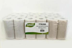 Toilet Rolls 36 pack 2-Ply 100% recycled material- Free 24 hour delivery