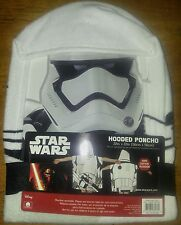 nwt star wars storm trooper hooded beach towel bath towel