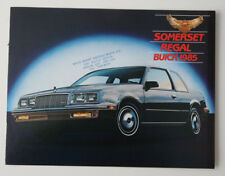 BUICK SOMERSET REGAL 1985 dealer brochure - French - Canada - ST501001117