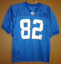 DETROIT LIONS GERMANE CROWELL Blue #82 USED AUTHENTIC NFL PRACTICE JERSEY